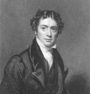Portrait of Faraday in his thirties